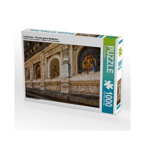 Cankamana - Ort zum gehen Meditation Foto-Puzzle Bild von www.Indien-Besuchen.de Puzzle