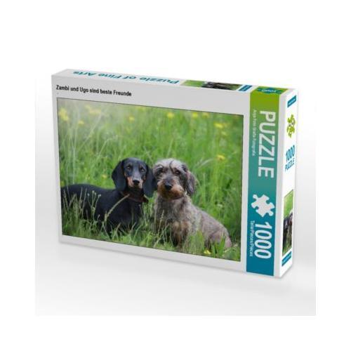 Zambi und Ugo sind beste Freunde Foto-Puzzle Bild von Anja Foto Grafia Fotografie Puzzle