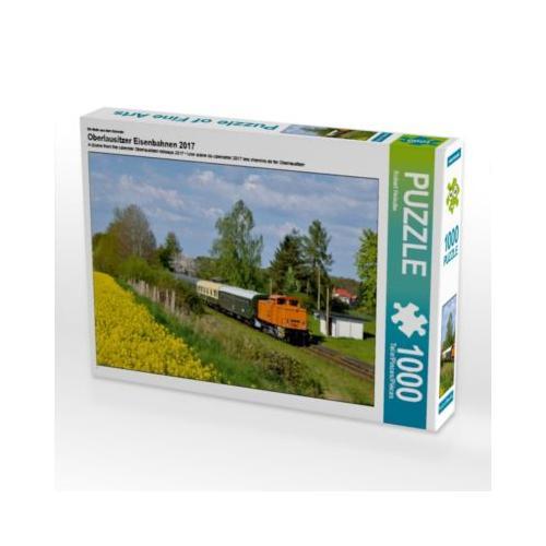 Oberlausitzer Eisenbahnen 2017 Foto-Puzzle Bild von Robert Heinzke Puzzle