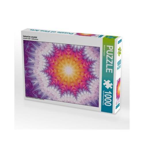 lemurian crystal Foto-Puzzle Bild von Michael Fischer Puzzle