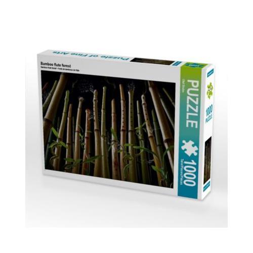 Bamboo flute forest Foto-Puzzle Bild von Olaf Bruhn Puzzle