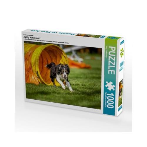 Agility Hundesport Foto-Puzzle Bild von Jörg Teckentrup Puzzle