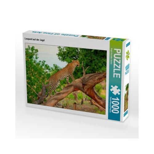 Leopard auf der Jagd Foto-Puzzle Bild von wkbilder Puzzle
