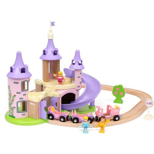 BRIO Disney Princess Traumschloss Eisenbahn-Set