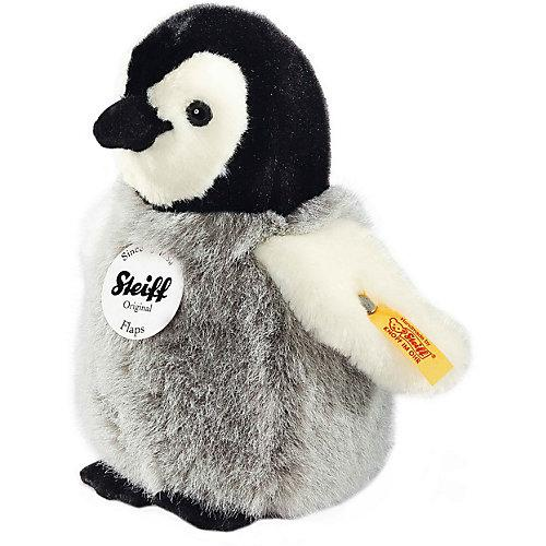 Flaps Pinguin, 16 cm grau