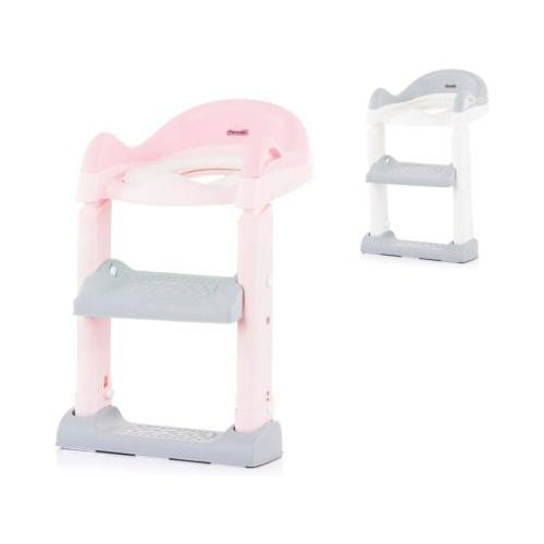 Toilettensitz mit Leiter Kindertoilettensitze pink/rosa