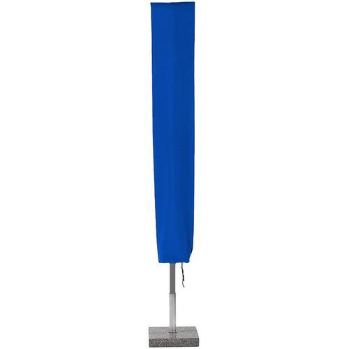 Planesium Abdeckplane für Sonnenschirm Blau 150cm x Ø 30cm Hülle Abdeckung Schutzhülle Haube Ampelschirm