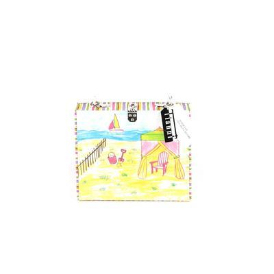 Tianni Handbags Satchel: Yellow Graphic Bags