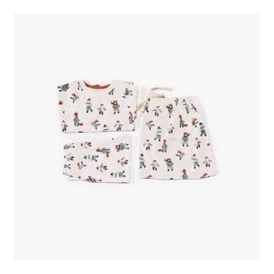 Pigeon Organics - Pyjamas In A Bag Skating Animals - 1-2 years