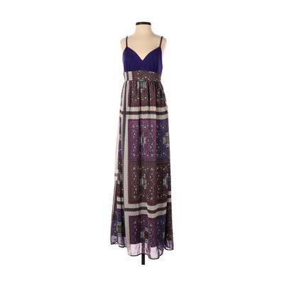 Twenty One Casual Dress - Maxi: Purple Dresses - Used - Size Small
