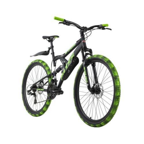 Mountainbike Fully 27,5 Zoll Bliss Pro 21 Gänge Mountainbikes, Rahmenhöhe: schwarz