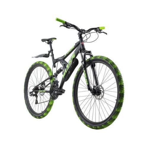 Mountainbike Fully 29 Zoll Bliss Pro 21 Gänge Mountainbikes, Rahmenhöhe: schwarz