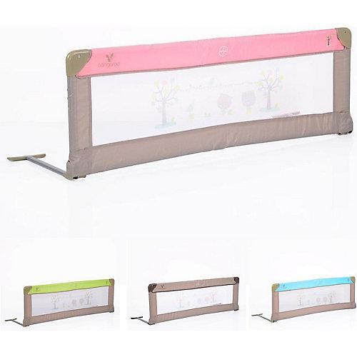 Bettschutzgitter 130 x 43,5 cm Bettschutzgitter pink/rosa