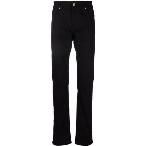 Versace Gerade Jeans mit Medusa-Schild