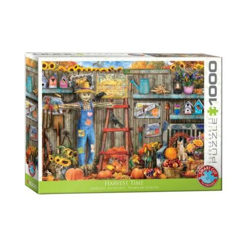 Puzzle 1000 Teile-Erntezeit