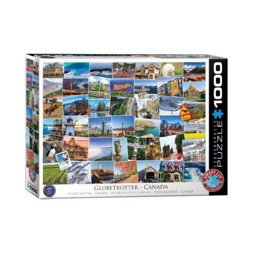 Puzzle 1000 Teile-Globetrotter Kanada