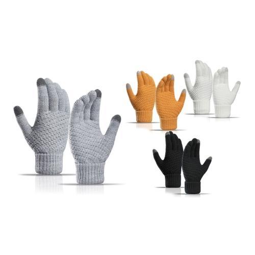 Touchscreen-Handschuhe: Gelb/ 1