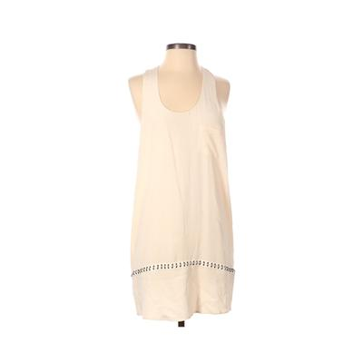 Alexander Wang Casual Dress - Shift: Ivory Solid Dresses - Used - Size X-Small