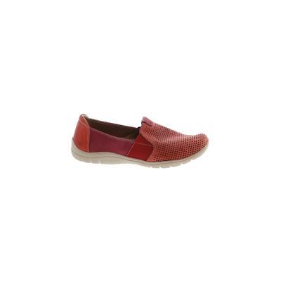 Earth Origins Flats: Orange Solid Shoes - Size 7 1/2