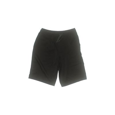 Plugg Athletic Shorts: Black Sol...