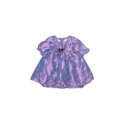 Crayon Kids Special Occasion Dress: Purple Floral Skirts & Dresses - Used - Size 18 Month