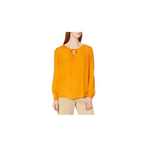 Weiblich in orange Comma orange