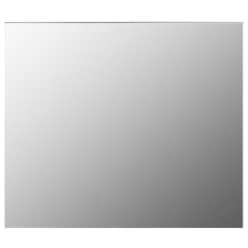 vidaXL Rahmenloser Spiegel 70x50 cm Glas