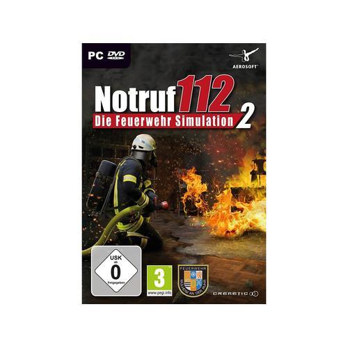 NBG Notruf 112 - Die Feuerwehr Simulation 2 - CD-ROM DVDBox