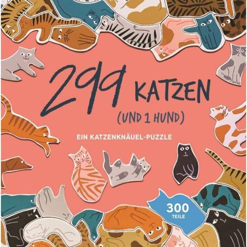 299 Katzen (und 1 Hund) (Puzzle)