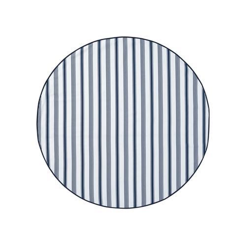 Livarno Home Tischdecke Lotuseffekt (rund, Streifen)
