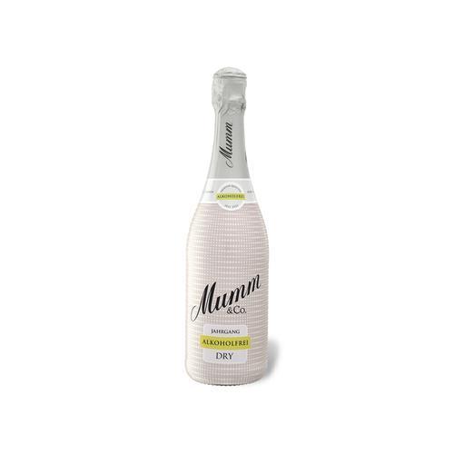 Mumm Dry, alkoholfreier Schaumwein 2019