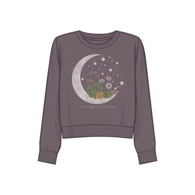 Fifth Sun™ Moonscape Moon Celestial Graphic Sweatshirt