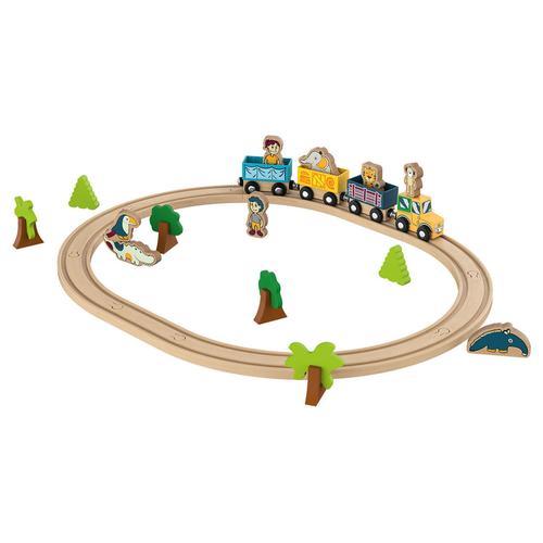 PLAYTIVE® Motorikspielzeug (Holzeisenbahn)