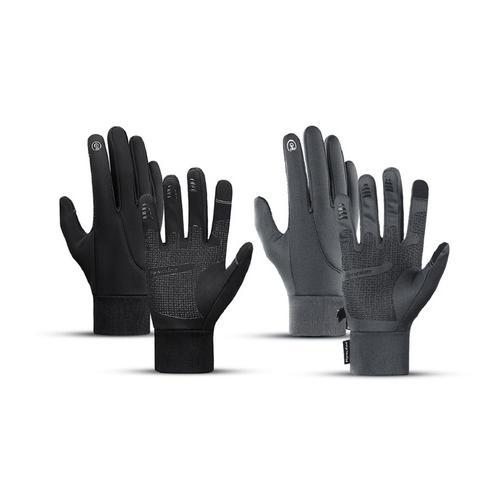 Touchscreen-Handschuhe: 1/ Grau/ Gr. M