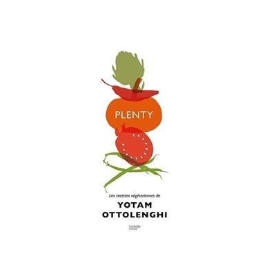 Livre Plenty Les recettes végétariennes de Yotam Ottolenghi Hachette pratique