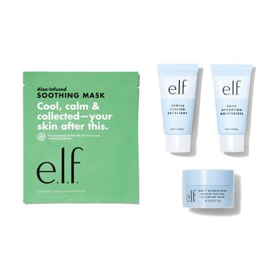 e.l.f. Cosmetics The Basics Mini Skincare Set - Vegan and Cruelty-Free Makeup - Holiday Gift Sets
