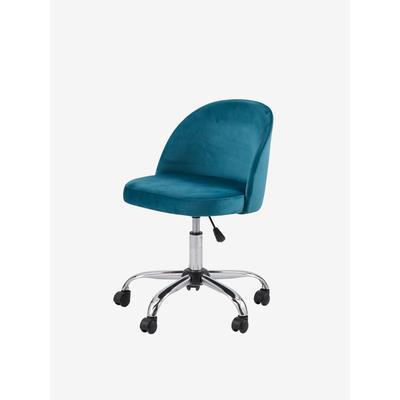Schreibtischstuhl für Grundschulkinder, Rollen blau/grün von vertbaudet