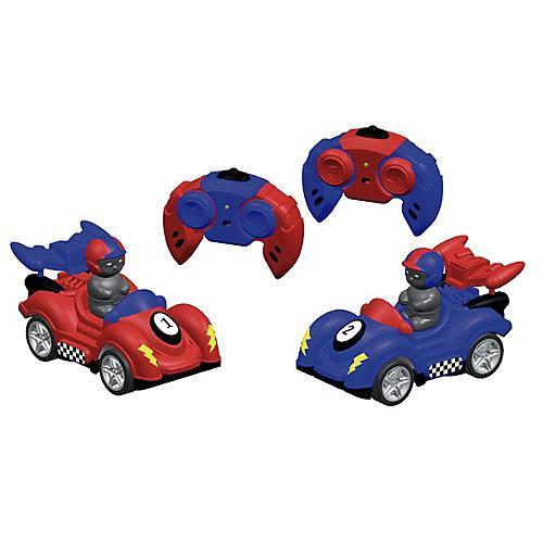 Bump Buggies Ferngesteuerte Autoscooter Ferngesteuerte Autos blau
