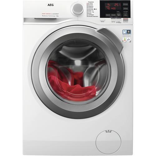 AEG Waschmaschine, L6FBA668, 8 kg, 1600 U/min B (A bis G) weiß Waschmaschine Waschmaschinen Haushaltsgeräte