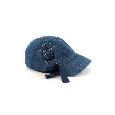 Steve Madden Baseball Cap: Blue ...