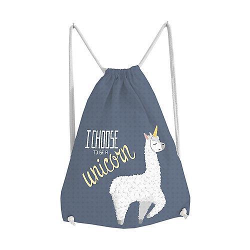 Turnbeutel Lama I Choose Turnbeutel bunt
