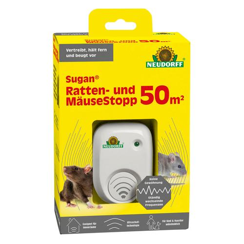Neudorff Sugan Ratten- und Mäuse Stopp 50qm