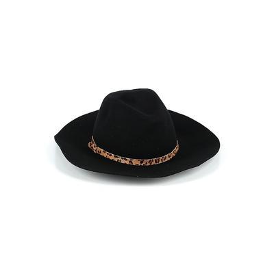 Hat Attack Fedora: Black Accessories