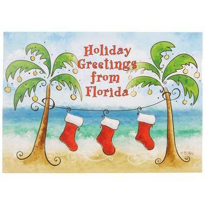Brighten the Season Holiday Stockings Greeting Cards