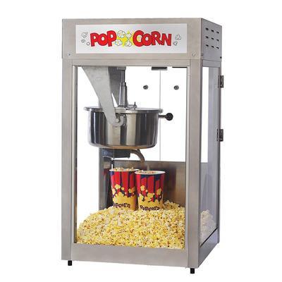 Gold Medal 2600 Super Pop Maxx Popcorn Machine w/ 16 oz Kettle, Counter Model, 120v