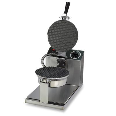 """Gold Medal 5020T Giant Waffle Cone Baker w/ 8"""" Non-Stick Grid, Stainless, 120v"""