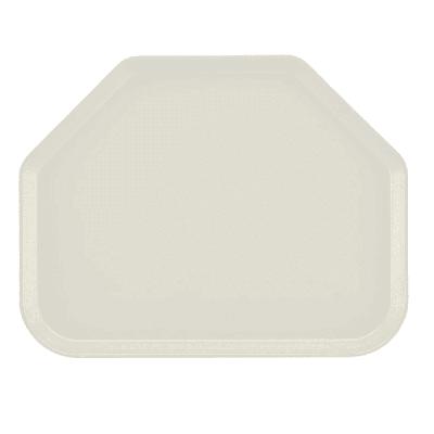 "Cambro 1422TR538 Fiberglass Camtray? Cafeteria Tray - 22""L x 14""W, Cottage White"
