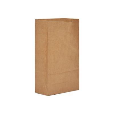 """Gen 6# Paper Bag, 50-Lb Base Weight, Brown, 6 X 3-5/8 X 11-1/16 (Baggx6500)"""