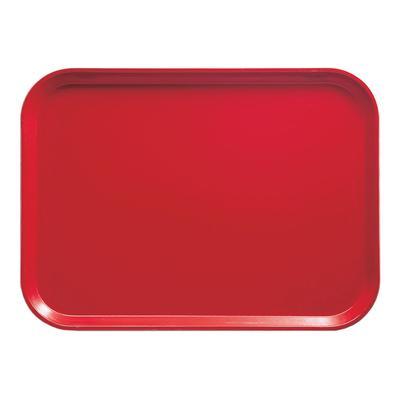 Cambro 2025510 Fiberglass Camtray? Cafeteria Tray – 25 1/2″L x 20 3/4″W, Signal Red