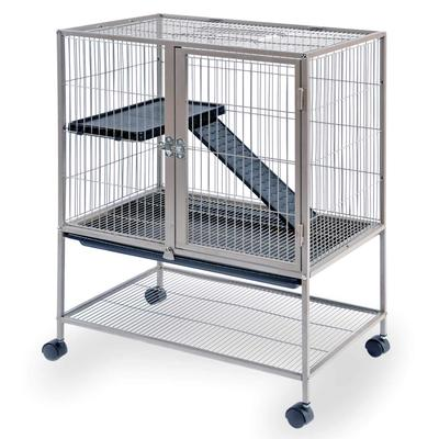Prevue Pet Products Cocoa Frisky Ferret & Rabbit Cage, 25 IN, Brown